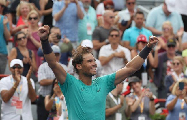 Tennis: Nadal couronné au Masters 1000 de Montréal pour la 5e fois