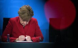 La chancelière allemande Angela Merkel, à Berlin le 22 avril 2016