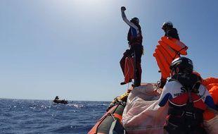 «Ocean Viking»: Joie d'arriver