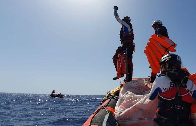 «Ocean Viking»: A l'annonce du débarquement à Malte, les migrants laissent éclater leur joie