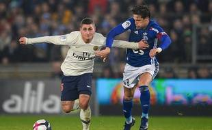 Football, Ligue 1: Strasbourg-PSG