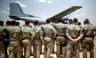 Les corps des deux militaires ont été rapatriés du Burkina Faso, lundi.