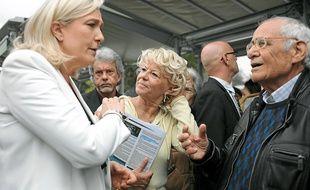 Marine Le Pen était venue soutenir Marie-Christine Arnautu lors des municipales.