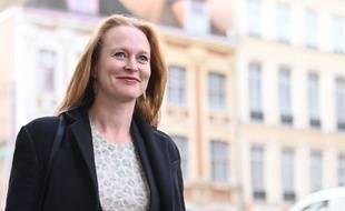 Violette Spillebout, candidate LREM aux elections municipales a Lille, Lille le 22 novembre 2019.