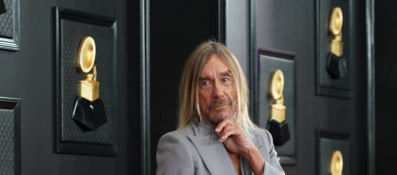 Le chanteur Iggy Pop
