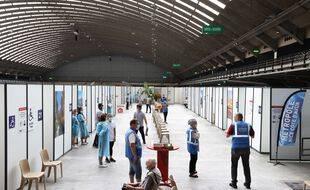 Plus de 314.000 injections ont été organisées dans les halles du Palais des expositions