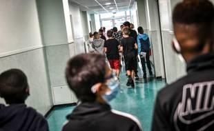 Dans un collège de Bordeaux. (illustration)