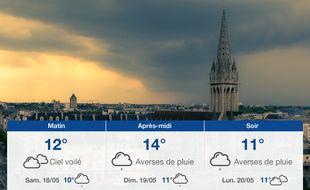 Météo Caen: Prévisions du vendredi 17 mai 2019