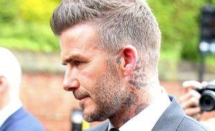 David Beckham n'en est pas à son coup d'essai.