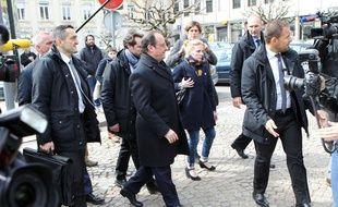 Le Président Francois Hollande est déjà retourné à Tulle pour voter aux élections départementales en mars.