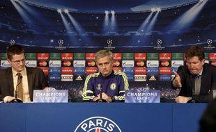 José Mourinho, avant le match de Ligue des champions contre le PSG.