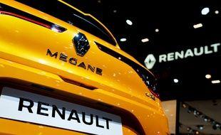 Une voiture Mégane exposée à Bruxelles (image d'illustration).