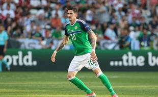 Kyle Lafferty, recordman du nombre de buts marqués avec l'Irlande du Nord