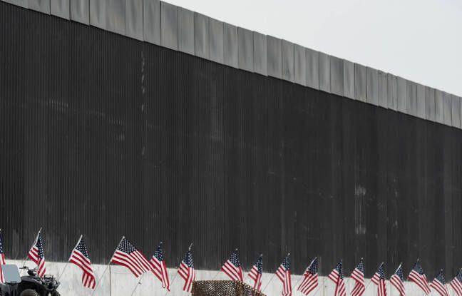 648x415 une partie du mur entre les etats unis et le mexique au texas le 12 janvier 2021