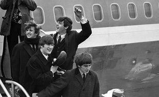 Les Beatles arrivent à New York le 7 février 1964.