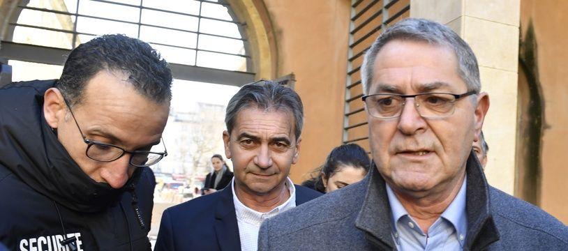 Bruno Odos et Pascal Fauret, les deux anciens pilotes impliqués dans l'affaire «Air Cocaïne», arrivent aux assises d'Aix-en-Provence en 2019