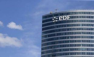 Le siège du groupe français EDF à La Défense, le 4 août 2015, près de Paris