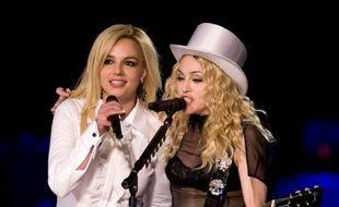 La princesse et la reine de la pop, Britney Spears et Madonna
