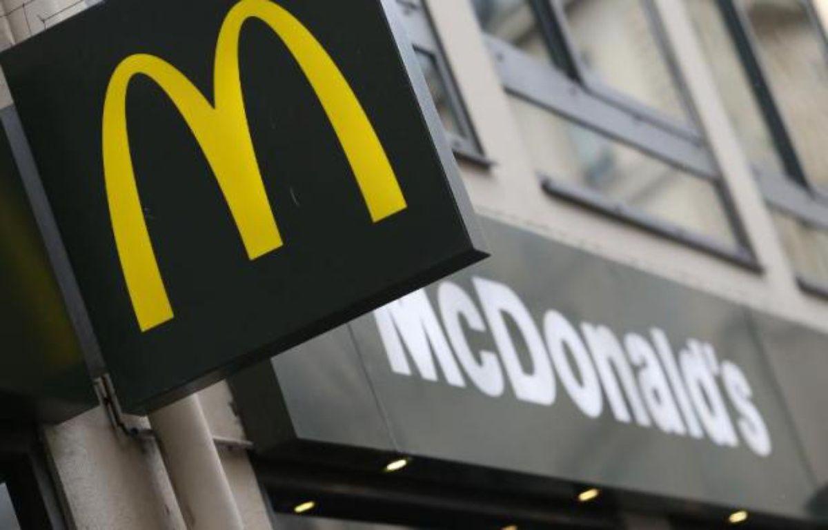 Logo d'un restaurant McDonald's – Kenzo Tribouillard AFP