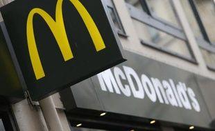 Logo d'un restaurant McDonald's