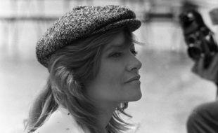 L'actrice Nathalie Delon à Cannes, en 1993.