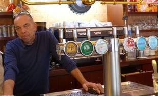 Bruno Mascarell, patron de bar à Rouen