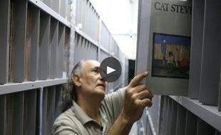 Le Brésilien Zero Freitas a ouvert les portes de sa collection de vinyles aux journalistes britanniques du Guardian.