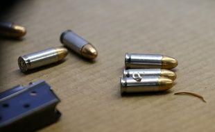 Des cartouches de fusil.