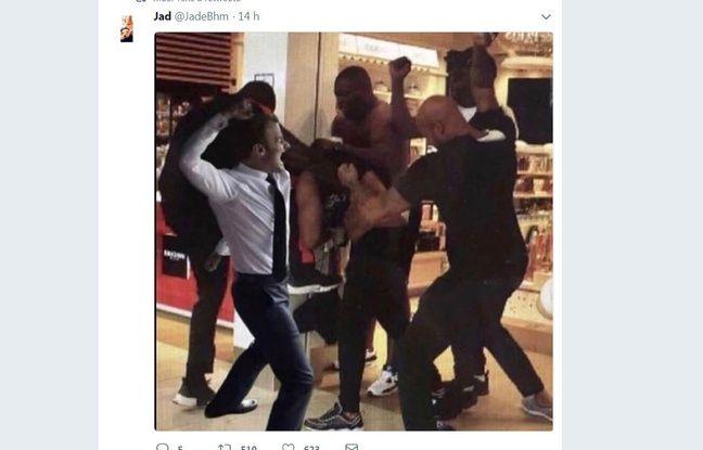 Une photo prise lors de la bagarre entre Booba et Kaaris devient un mème (1)