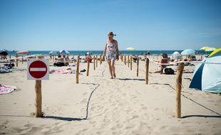 Une plage de La Grande Motte (Hérault), le 21 mai 2020.