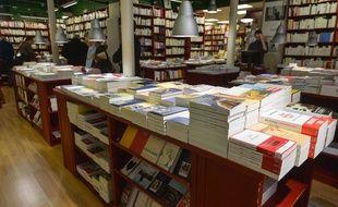 La rentrée littéraire 2017 dans une librairie en France