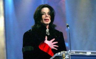 Michael Jackson aux Bambi Awards en Allemagne, en 2002.