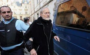 Maurice Agnelet à l'issue de son procès le 11 avril 2014, à Rennes.