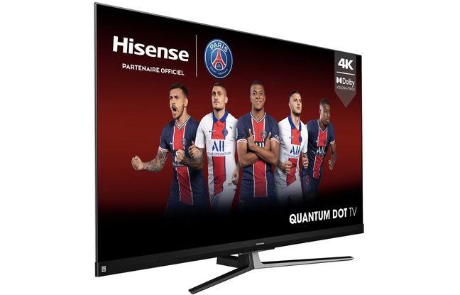 Le téléviseur 55U8QH propose une dalle 100 Hz à prix modéré.