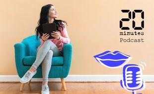 Illustration d'une femme assise