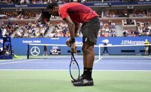 Gaël Monfils n'ira pas plus loin que les quarts de finale de l'US Open.