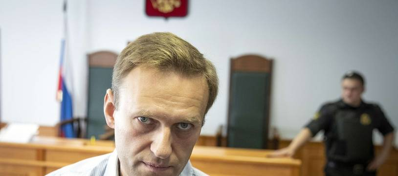 Alexei Navalny, le 5 septembre 2018.