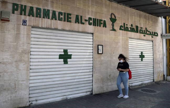 648x415 pharmacies liban ferme protester contre penurie medicaments