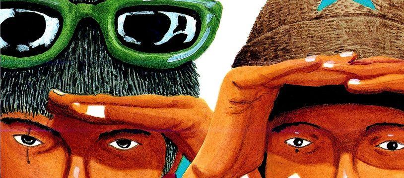 «Amer Beton», le manga culte de Taiyō Matsumoto, ressort en intégrale aux éditions Delcout/Tonkam