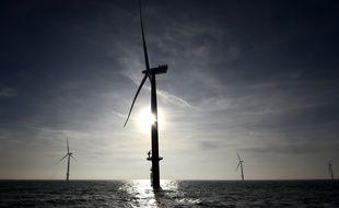 Cinq éoliennes doivent être érigées à Saint-Georges-les-Bains en Ardèche. Illustration.
