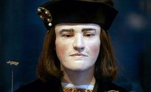Reproduction du visage de Richard III réalisée à partir du crâne du roi d'Angleterre mort en 1485