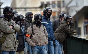 Photo d'illustration de policiers de la Brigade anti-criminalité, ici en 2018 à Nantes.