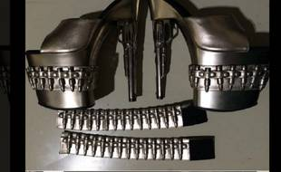 L'agence américaine pour la sécurité dans les transports a publié la photo des chaussures sur son compte Twitter.