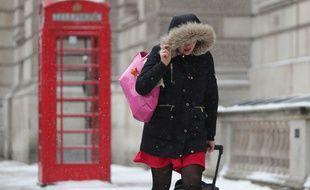 Les températures négatives et la neige ont touché l'ensemble du pays.