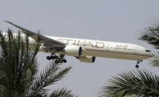 Un avion de la compagnie Etihad Airways