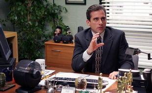 SteveCarrell a.k.a. Michael Scott, dans la série télévisée «The Office».