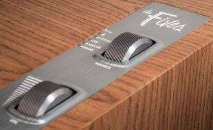 Les enceintes The Fives adaptées aux supports numériques et analogiques.