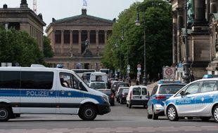 Des voitures de police en Allemagne (image d'illustration).