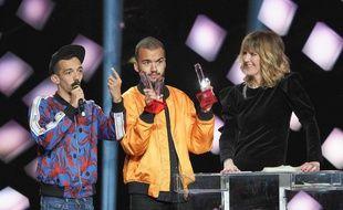BigFlo et Oli lors de la 34e cérémonie des Victoires de la musique.