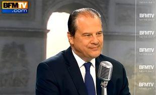 Jean-Christophe Cambadélis a réclamé la fin de la grève à Air France sur l'antenne de BFM, le 16 septembre 2014.